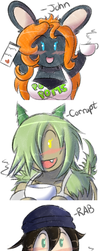 Crayon Doodles, Part 2 by TheEnglishGent