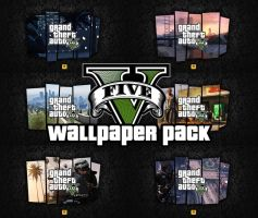 46x Grand Theft Auto V Wallpapers by xDaftPunk