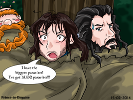 Kili Has Parasites by Prince-in-Disguise