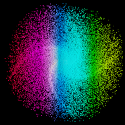 Point Density + Particles + Gradient Texture = WIN by blenderednelb