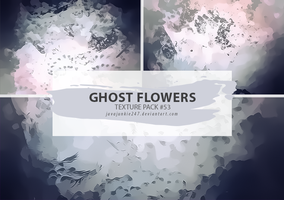 Textures #53 - Ghost Flowers by JJ-247