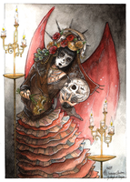 COM ~ Light of Death by Songes-et-crayons