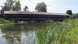 Covered Bridge by Nariane
