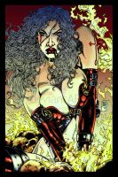 War Angel Fanart Colors Raw by ARTTHAM