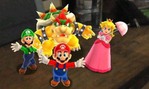 Photos with Mario and Friends by AngryBirdsStuff