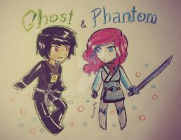 Ghost and Phantom by Squira130