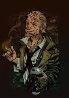 Hellblazer in color by OXOTHUK