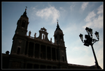 Cathedral in Madrid by Xalira