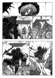 Thorn of hate - Dark Souls comic PAG 14 by thunderalchemist18