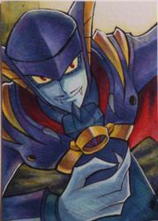 Shademan EXE Sketchcard by Khaliqa