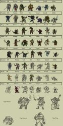 Character Tokens for Boardgame by Nith47
