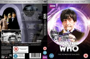 Doctor Who - The Power of the Daleks custom DVD by GrantBattersby