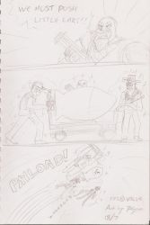 Sketchbook: Playd Too Much TF2 by xychojack