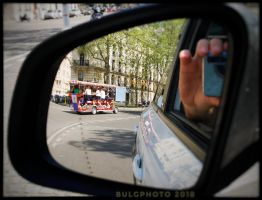 Velobus in Paris by bulgphoto