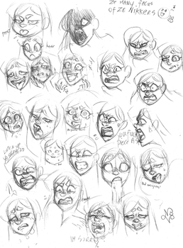 Expression Practice by kerenitychan