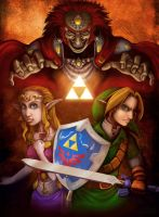 Three Powers of the Triforce by markuro