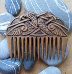 Wooden comb by whiteright