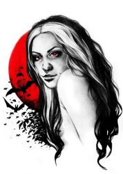 Lady Vampire by Epileptic-Zombie