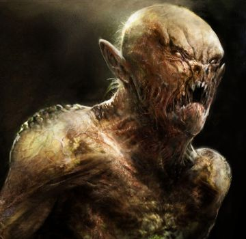 Creature concept art by CyrilT