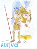 Athena Sentry by Deorse