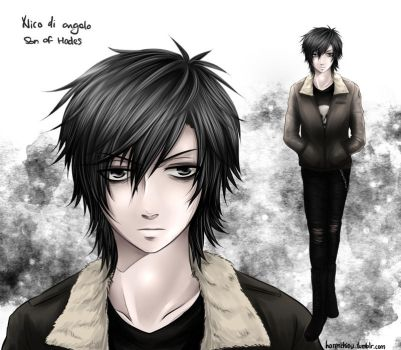 Heroes of Olympus: Nico di Angelo by Heller45