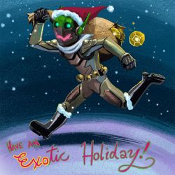 Have an EXOtic Holiday by lazesummerstone