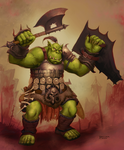 Orc design by Jumpei