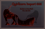 Quirlicorn Import 666 by Astralseed