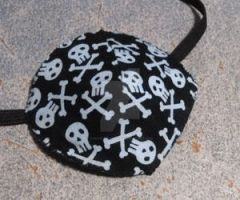 Kate's Skull and Crossbones Patch