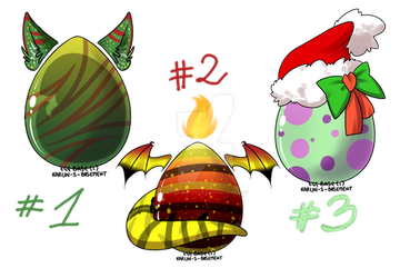 [OPEN] Winter EGG Adopt Auction {points or money} by RudaWilczyca