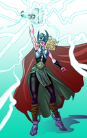 Thor - Jane Foster by Mercvtio