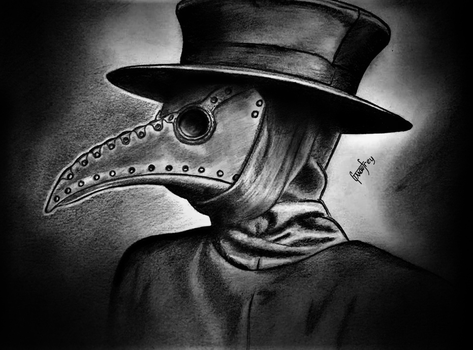 Plague Doctor by GMaufrey