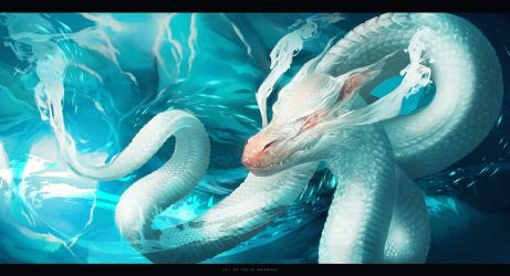 water dragon by sheer-madness