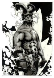 hellboy 13 by BrentMcKee