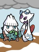 Froslass and Snover