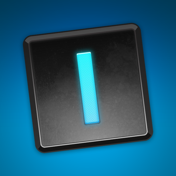 iA Writer App Icon in Black by marc2o
