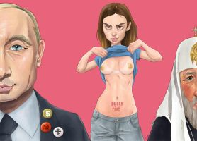 Pussy Riot by QuilesART