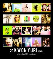 Icon pack Yuri Kwon 2. by Marnie95