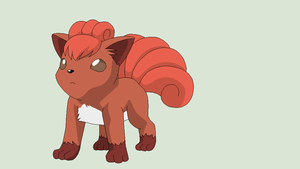 Pokemon Base 139~Vulpix 1~ by Xbox-DS-Gameboy
