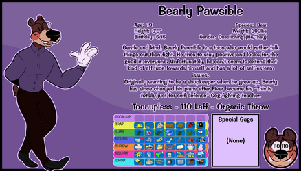 Bearly Pawsible by minglermail