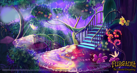 Furcadia: CC Magical Forest Background by fang