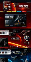 Star Trek Theme Overview by skinsfactory