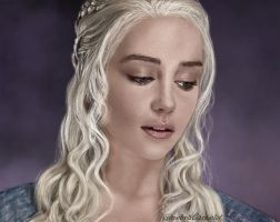 Daenerys - Game of Thrones by GinebraCamelot