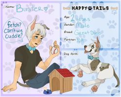 Buster Application by Paper-Cities