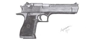 Desert Eagle Mark XIX by CzechBiohazard