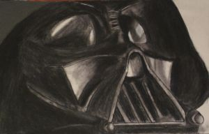 Vader Charcoal by spikerman87