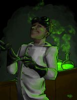 Dr. Horrible's horribleness X3 by millenium-night