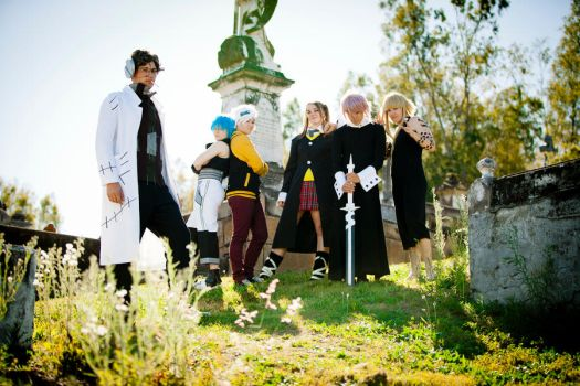 Soul Eater ~ Group Shot by KamaCake