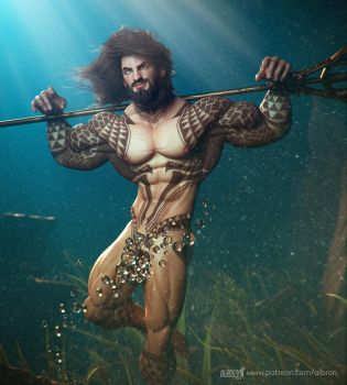 Aquaman by albron111