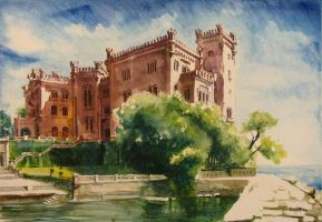 Miramare castle by milanglo